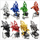 CNC Front Rearsets Footrest Footpegs Pedal Fit Yamaha YZF R25/R3 MT-25 2015-2016