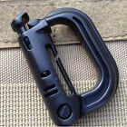EDC Keychain Carabiner Molle Tactical Backpack Shackle Snap D-Ring Clip TB