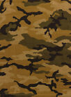 Brown Southwestern Carpet Nature Print Camouflage Nature Earth DIrt Area Rug