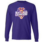 Clemson Tigers 2016 National Champions Official Icon Purple Long Sleeve T-Shirt