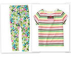GYMBOREE Girls Size 5 or 6 Tea For Two Stripe Shirt or Easter Legging Choice NWT