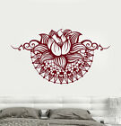 Vinyl Go under Decal Lotus Yoga Spa Center Bedroom Design Stickers (750ig)