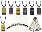 Licensed Team Gridiron Rope Diamond Plate Necklace - Several Teams To Choose $7.49 USD on eBay