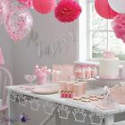 Ginger Ray Princess Girls Birthday Party Christening Partyware Tableware Lot Set