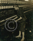 1916 Barefoot Sweeper Child Labor Fall River MA Historical Photo Vintage