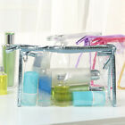 Travel Clear Waterproof Makeup Bag Organizer Storage Portable Large Space Case