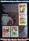 ☆ Topps 1976 Football Blue/Grey Cards 271 to 330 (F) *Please Select Cards*