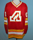 CUSTOM NAME   ATLANTA FLAMES RETRO HOCKEY JERSEY 1972 NEW SEWN ANY SIZE