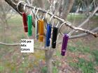 500 pcs Dog Whistles Pet Training Puppy Safety Keyring many colors wholesale
