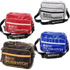 Mens Crosshatch Keetons Retro Laptop Messenger Boys School Shoulder Bag Mens