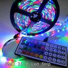 5-20 Meter LED Strip Light SMD 3528 5630 LED Lamp & Power Supply & IR Remote
