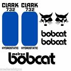 Bobcat 730 731 732 DECALS Stickers Skid Steer loader New Repro decal Kit