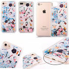 For iPhone Cosmetic Sparkle Decorative Ornament Shockproof Fitted Case Cover