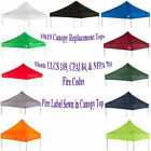 10'x10' Replacement Canopy Top Sunshade Gazebo fits EZ UP Canopy Caravan