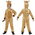 Smiffy's Childs Plush Giraffe Fancy Dress Costume World Book Day Animal Outfit