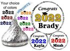 Внешний вид - 108 GRADUATION PARTY FAVORS HERSHEY KISS KISSES LABELS