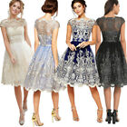 Women's Short Lace Dress A-Line Prom Evening Party Cocktail Wedding Dresses