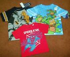*SUPER HEROS* T-SHIRTS SIZE 12M-3T, BRAND NEW. FREE SHIPPING!