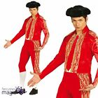 Adult Red Bullfighter Toreador Matador Spain Spanish Fancy Dress Costume Outfit
