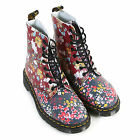 Dr Martens Women's Pascal Floral Clash Leather Lace Up Boot Multi