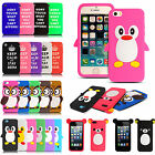 NEW CARTOON SOFT SILICONE RUBBER CASE COVER SKIN BLACK FOR VARIOUS MOBILE PHONES