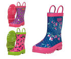 Target Dry Heidi Girls Waterproof Lined Welly Boots