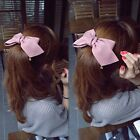 Fashion Women Large Bow Bowknot Ponytail Holder Hair Clip Hair Accessories