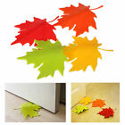 Cute Maple Autumn Leaf Style Home Decor Finger Safety Door Stop Stopper Doorstop
