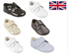 Baby Boys Pram Shoes GIBSON BUTTON Traditional Pre-walkers - EARLY DAYS BAYPODS