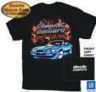 78 79 77 80 81 2ND GEN CAMARO Z28 FLAME T-SHIRT BLACK GM LICENSED 67 68 69 76 75