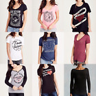 New True Religion Brand Jeans Graphic Women's T-Shirt & Polo Size: XS S M L