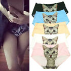 Funny Cartoon Pussycat Panties Briefs Anti Emptied Cat Meow Star Cat Pant Hguk