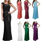 Slim Solid Color Lace Sleeveless Evening Dress Round Neck Women Popular Fashion