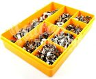 100 ASSORTED A2 STAINLESS M5 M6 M8 M10 TEE NUTS, DRIVE IN, CAPTIVE T NUT KIT