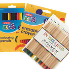 PENCILS - Colouring Watercolour Charcoal Rainbow Scented Erasable Metallic Mini