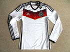 PLAYER JERSEY ! ADIDAS SIZES 7 (M) - 8 (L/XL) GERMANY LONG SLEEVE shirt football