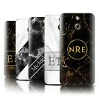 Personalized Custom Marble/Granite Phone Case for HTC One/1 E8/Initial Cover