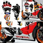Leather Repsol Honda Motorbike Gloves Motorcycle Gloves Racing Suits Bike 2017