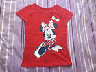 NEW***Minnie Mouse Toddler Girls Short Sleeve Top***Red***Size 2