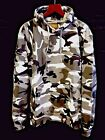 Camouflage Hoodie Top Camo Urban Sizes Small to 5X-Large