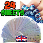 NAIL ART VINYL STENCIL GUIDE STICKER MANICURE STENCIL STICKERS HOLLOW NAIL ART <br/> *UK SELLER*SAME DAY DISPATCH*FREE DELIVERY*28 DESIGNS*
