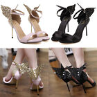 Chic Butterfly Wings High Heels Women Sophia Vampire Diaries Party Sandal Shoes