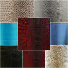 """Gator Vinyl Faux Leather Pleather Upholstery Fabric By The Yard 54"""" W Tablecloth"""