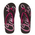 Animal Swish Logo Flip Flop Black FM7SL309/002 NEW