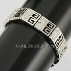 B1-A831 Fashion CZ Retro Style Bracelet Bangle Cuff 18KGP Crystal Rhinestone