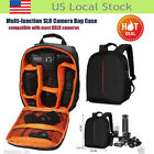 Camera Bag Backpack Waterproof DSLR Case with Carabiner for Canon for Nikon US