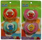 Внешний вид - Sesame Street 0+ Month Pacifiers, Big Bird, Elmo, Cookie Monster - Boys & Girls