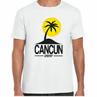 Cancun 2017 Holiday - MensT shirt - tour stag clubbing Palm