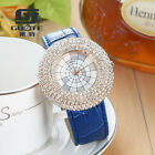 Luxury Women's Diamond Watch Belt Alloy Quartz Wristwatches