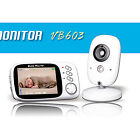 3.2in Wireless LCD Baby Monitor Camera Talk Back Video Safety Night Vision Music